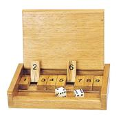 Jeu shut the box