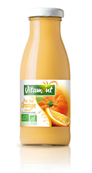 Bouteille de pur jus d'orange douce 25 cl