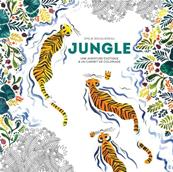 Carnet de coloriage la jungle