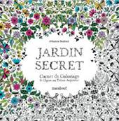 Carnet de coloriage le jardin secret