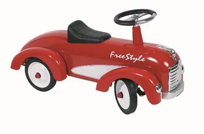 Porteur voiture Free Style rouge